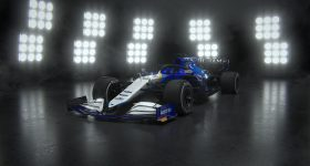 Williams Racing's FW43B F1 car. Image via Williams Racing.