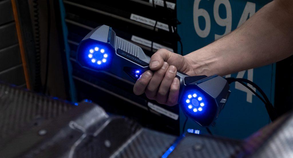 The FreeScan UE 3D scanner. Photo via Shining 3D.