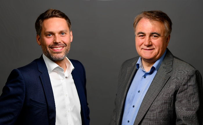 AM Ventures' Managing Partners Arno Held (left) and Johann Oberhofer (right)