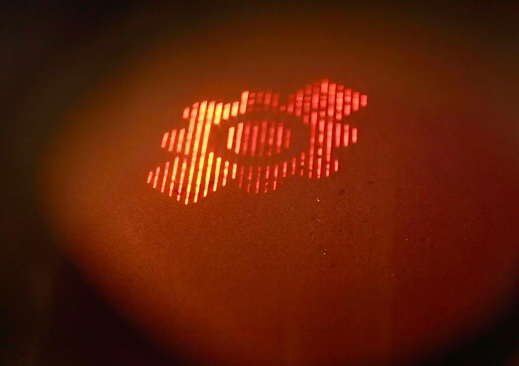 Wayland's Calibur3 EBM 3D printer during processing.