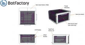 BotFactory's proposed electronics 3D printer.