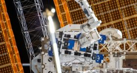 Nano Dimension's First Ever AME RF communications circuit has been sent to the ISS. Photo via Nano Dimension.
