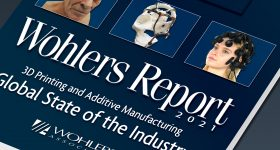 The Wohlers Report 2021. Image via Wohlers Associates.