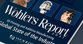 The Wohlers Report 2021. Image via Wohlers Associates.