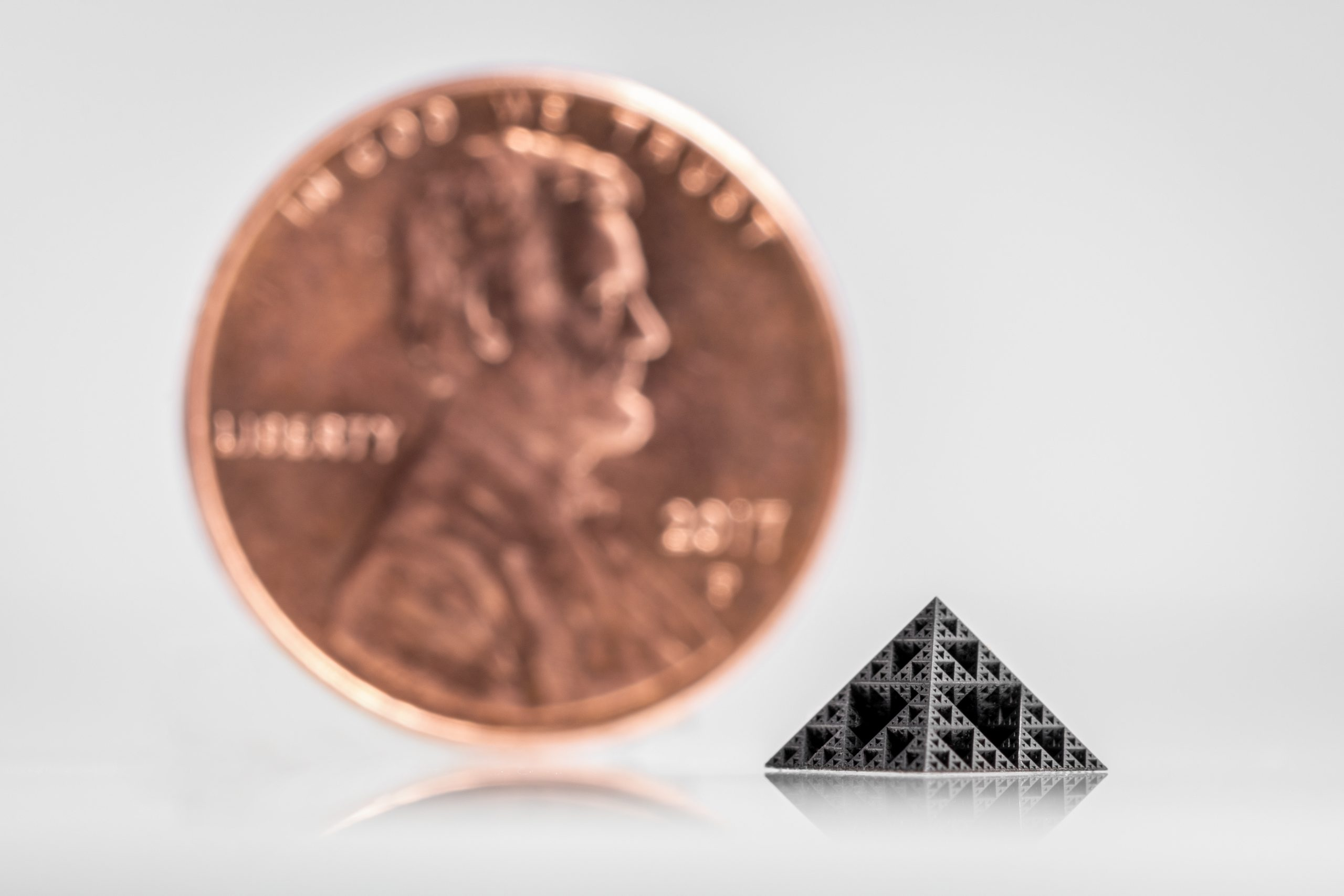 Nanofabrica has combined speed and precision in its microscale 3D printing technology. Photo via Nanofabrica.