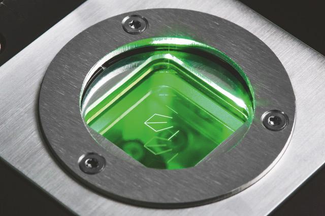 The glass plate of the SFM. Photo via PRIMES.