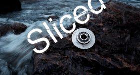 The Sliced logo on top of Sandvik's super-duplex steel 3D printed optimized offshore impeller.