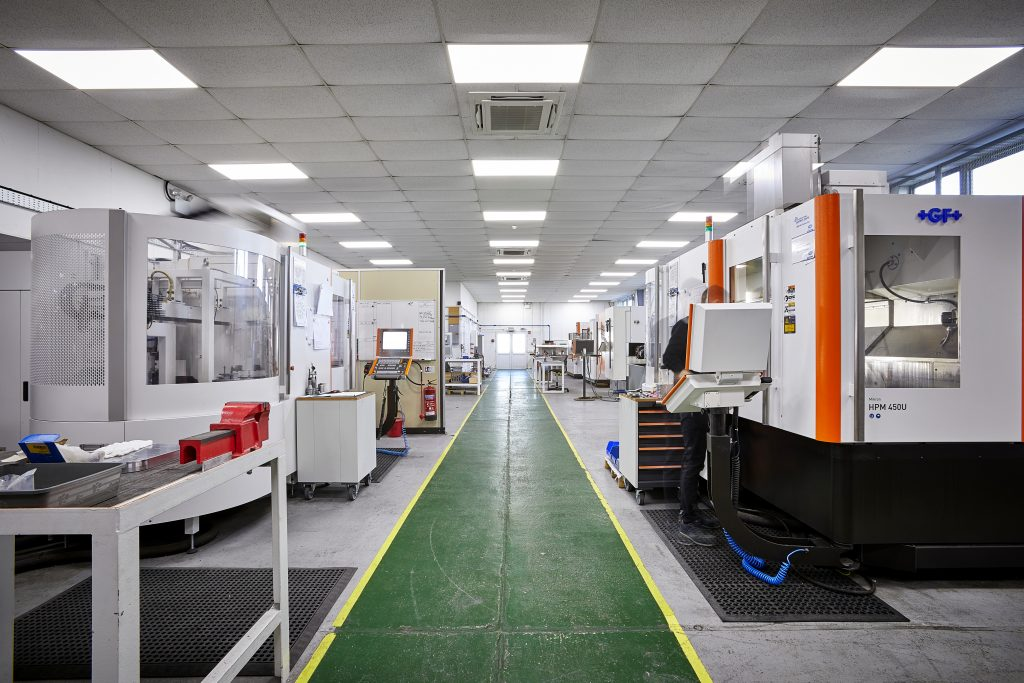 The inside of a 3T 3D printing facility. Photo via 3T Additive Manufacturing.