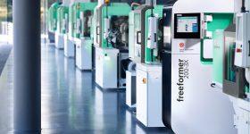 An Arburg Freeformer 3D printing facility. Photo via Arburg.