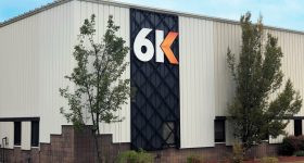 6K's Battery Center of Excellence in North Andover, MA. Photo via 6K.