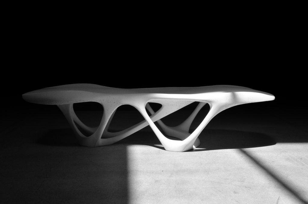 The Delicate Density Table. Photo via Slicelab.