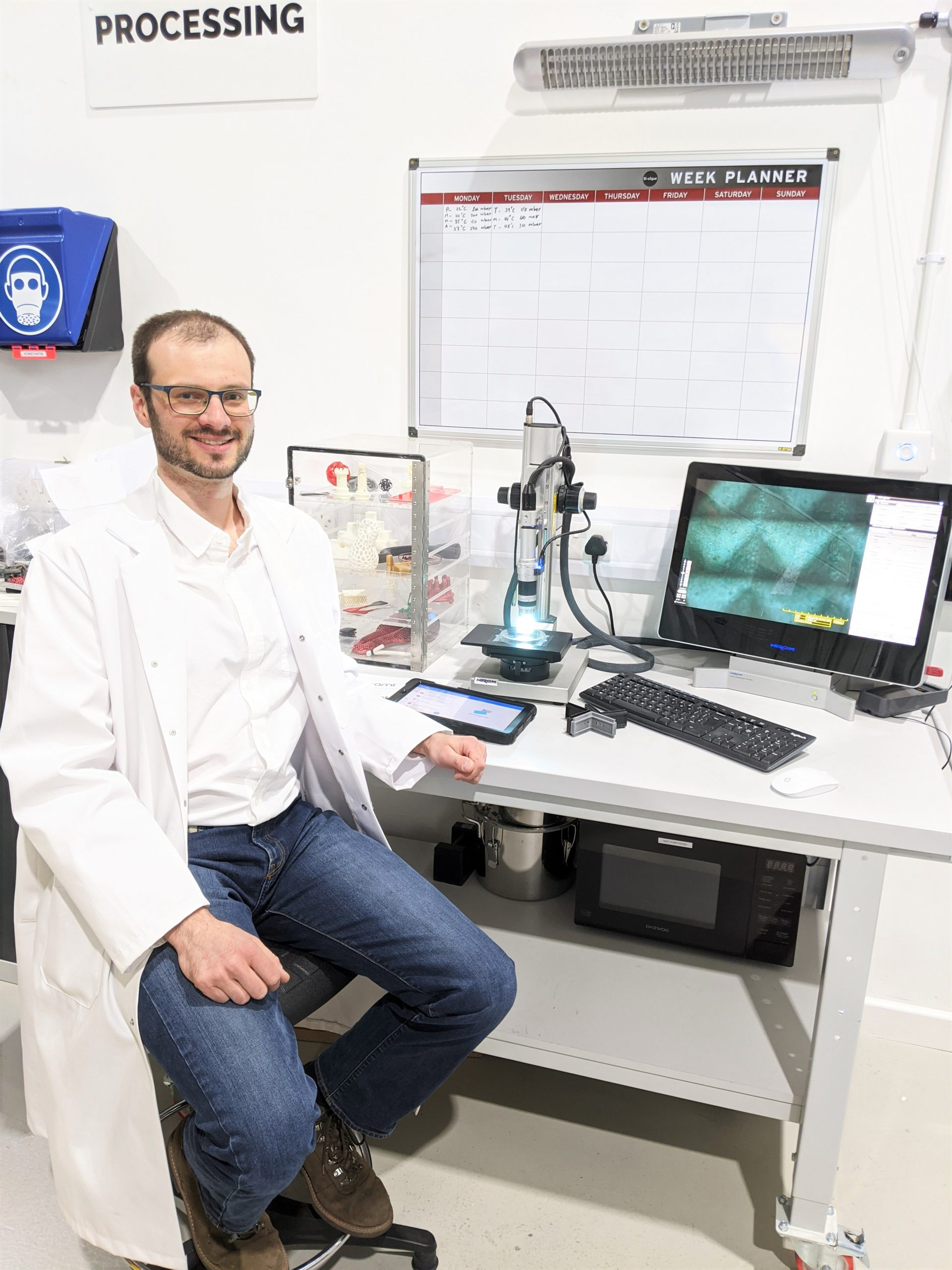 Dr. Konstantin Rybalcenko, Global Head of R&D at AMT. Photo via AMT.