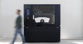 The ELEMENTO v2.1 3D printer. Photo via Fabbrix.