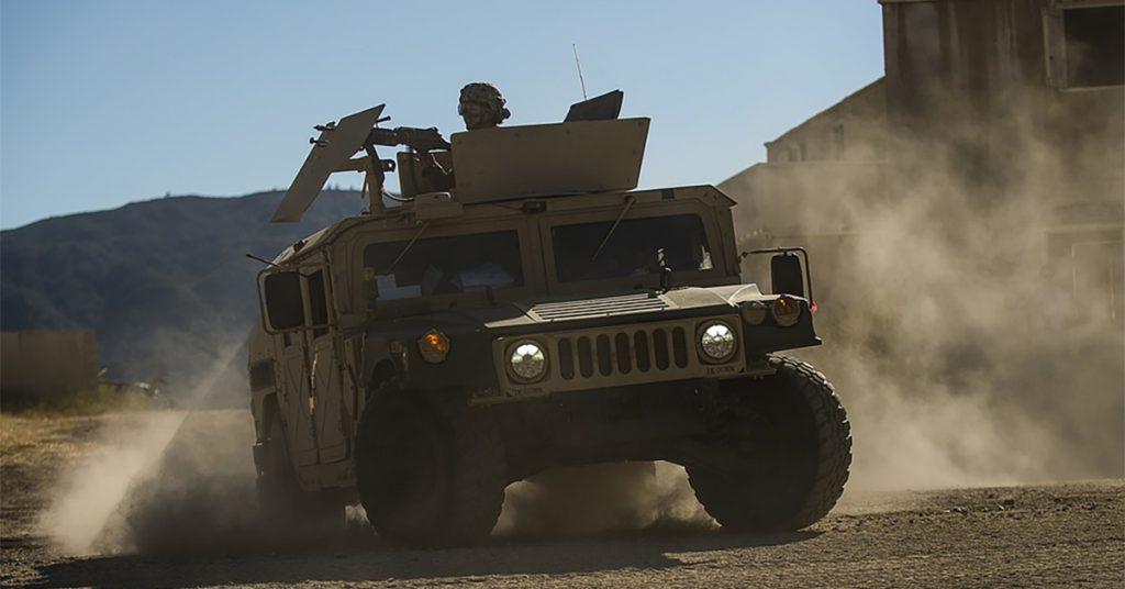 A U.S. Army Humvee. Photo via U.S. Army.