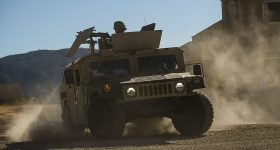 A U.S. Army Humvee. Photo via U.S. Army.