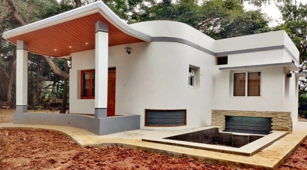 The first 3D printed house in India.