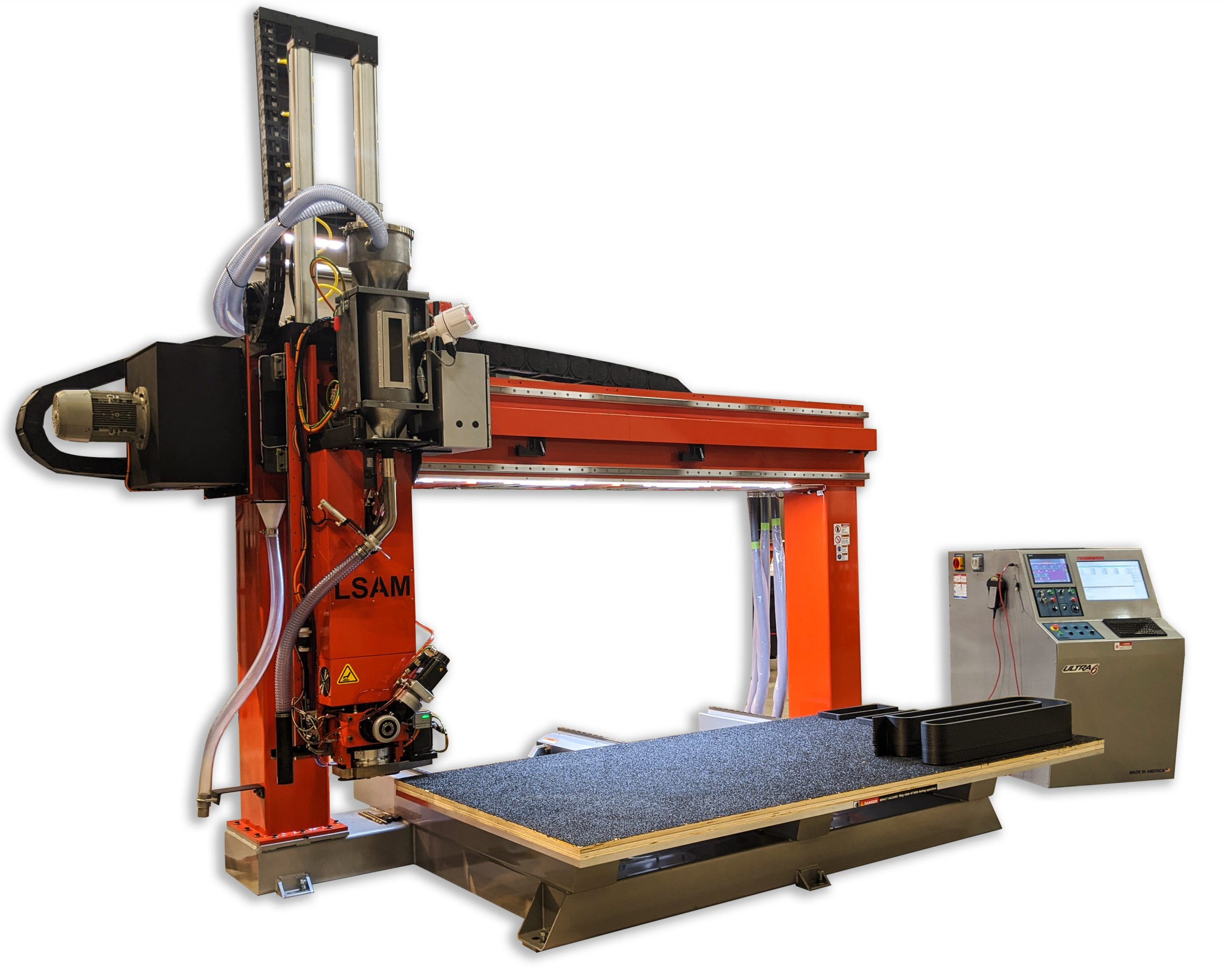 The LSAM additive printer. Image via Purdue Univeristy.