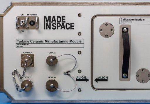 Made in Space's Ceramic Manufacturing Module. Photo via Made in Space.