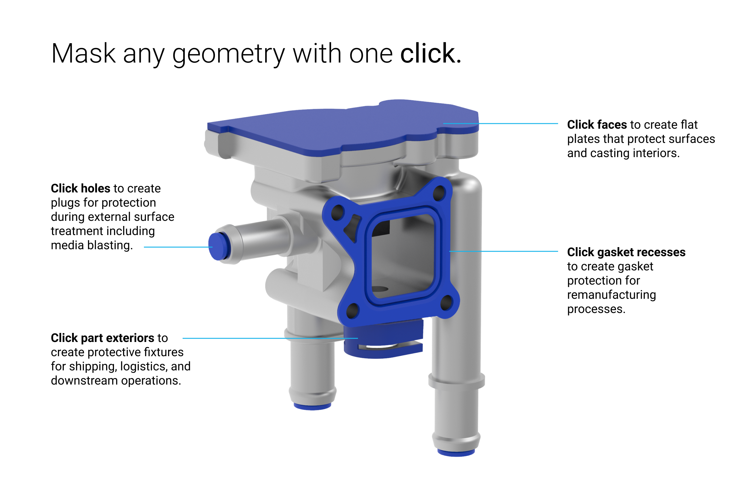 The Masking Fixture Module is capable of saving users hours of work in CAD design for each job. Image via nTopology.