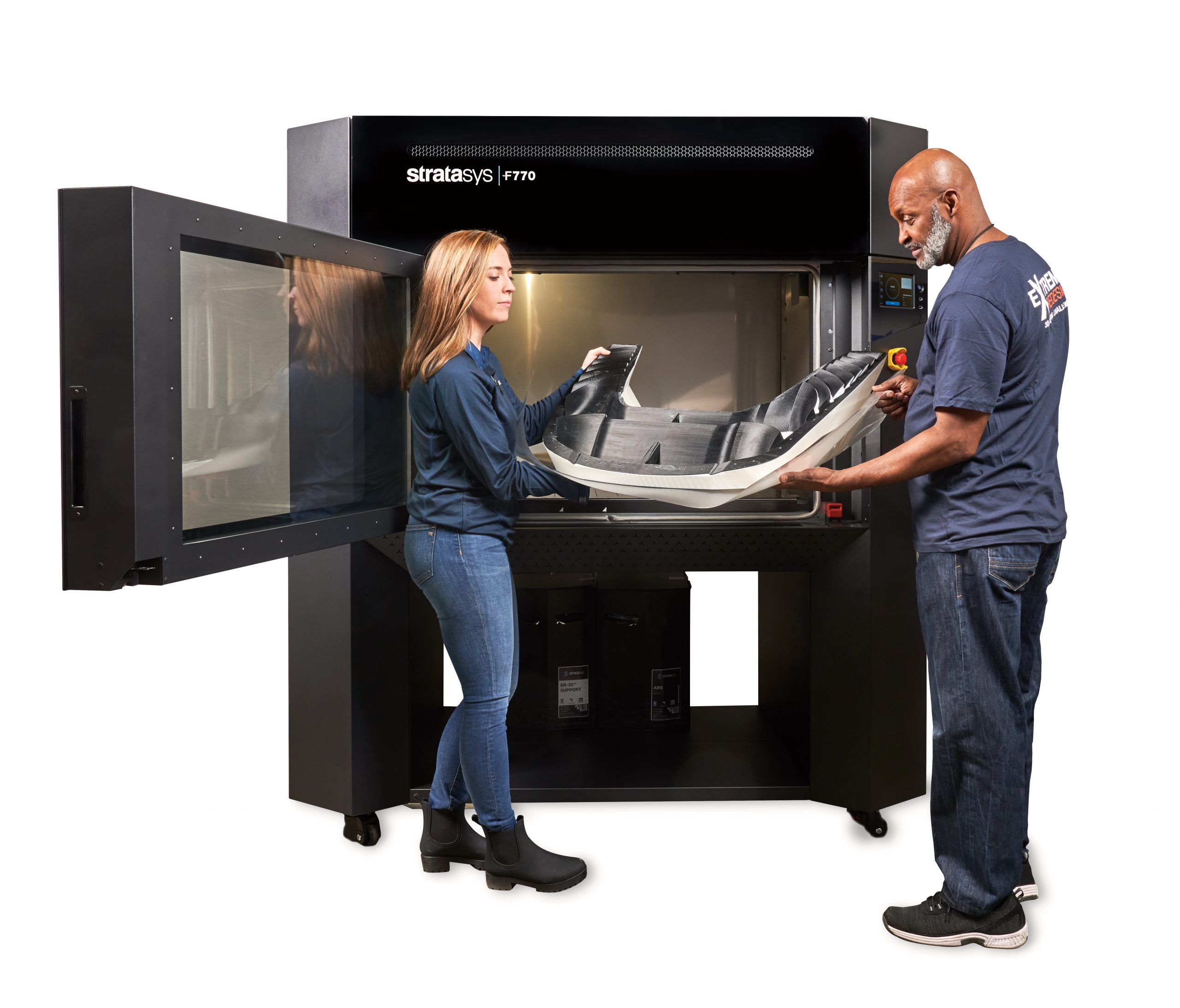 Stratasys F770 FDM 3D printer. Photo via Stratasys.