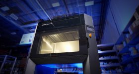 Stratasys F770 3D printer installed at Sub-Zero. Photo via Stratasys.