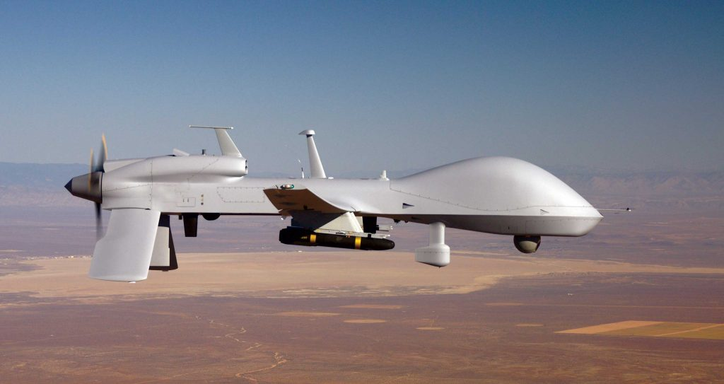 The Army makes use of UAVs like the MQ-1C Gray Eagle Unmanned Aircraft System. Photo via U.S. Army.