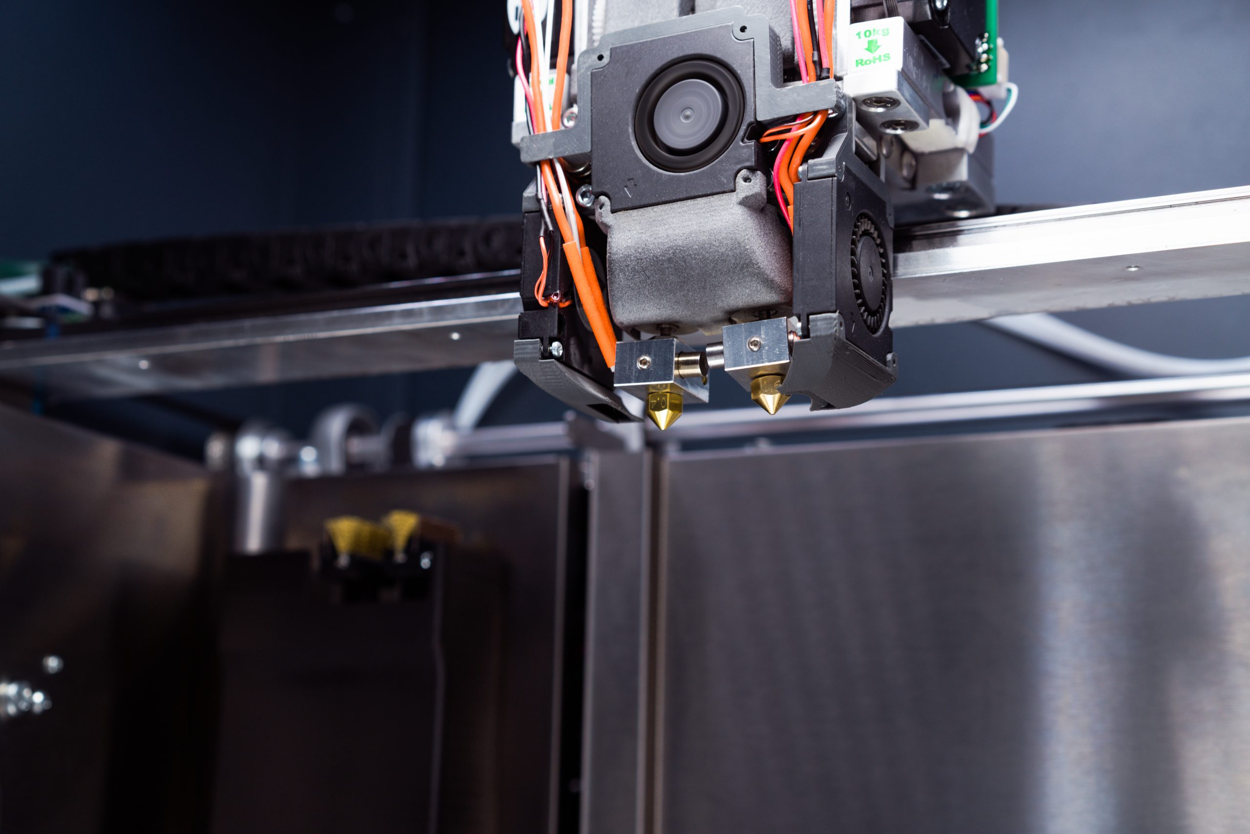 The Zmorph i500's Dual Drive Dual Extruder. Photo via Zmorph.