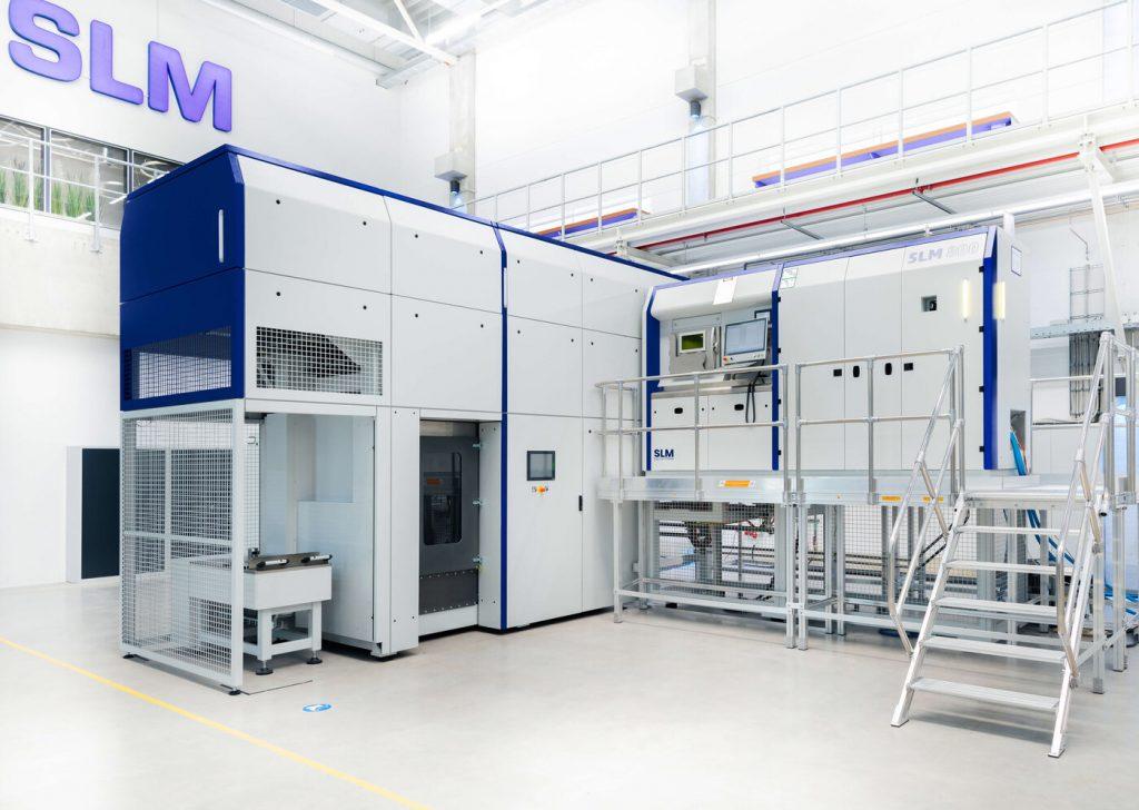 SLM Solutions' SLM 800 3D printer. Photo via SLM Solutions.