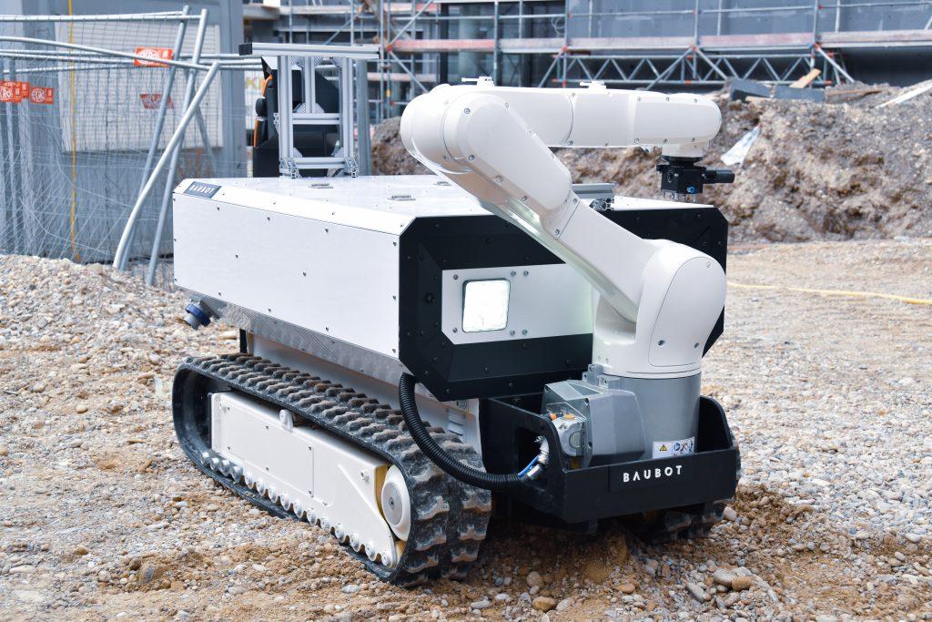 The multi-functional Baubot. Photo via Printstones.