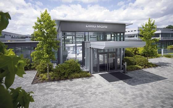 DMG MORI's Bielefeld company headquarters.