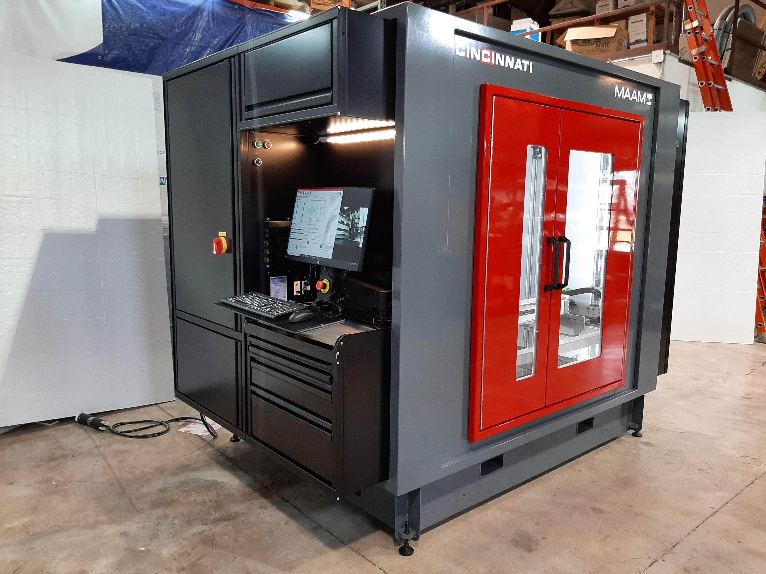 Cincinnati Inc.'s MAAM 3D printer. Photo via Cincinnati Inc.