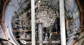 A molten salt reactor developed by Oak Ridge National Laboratory. Photo via Oak Ridge National Laboratory.