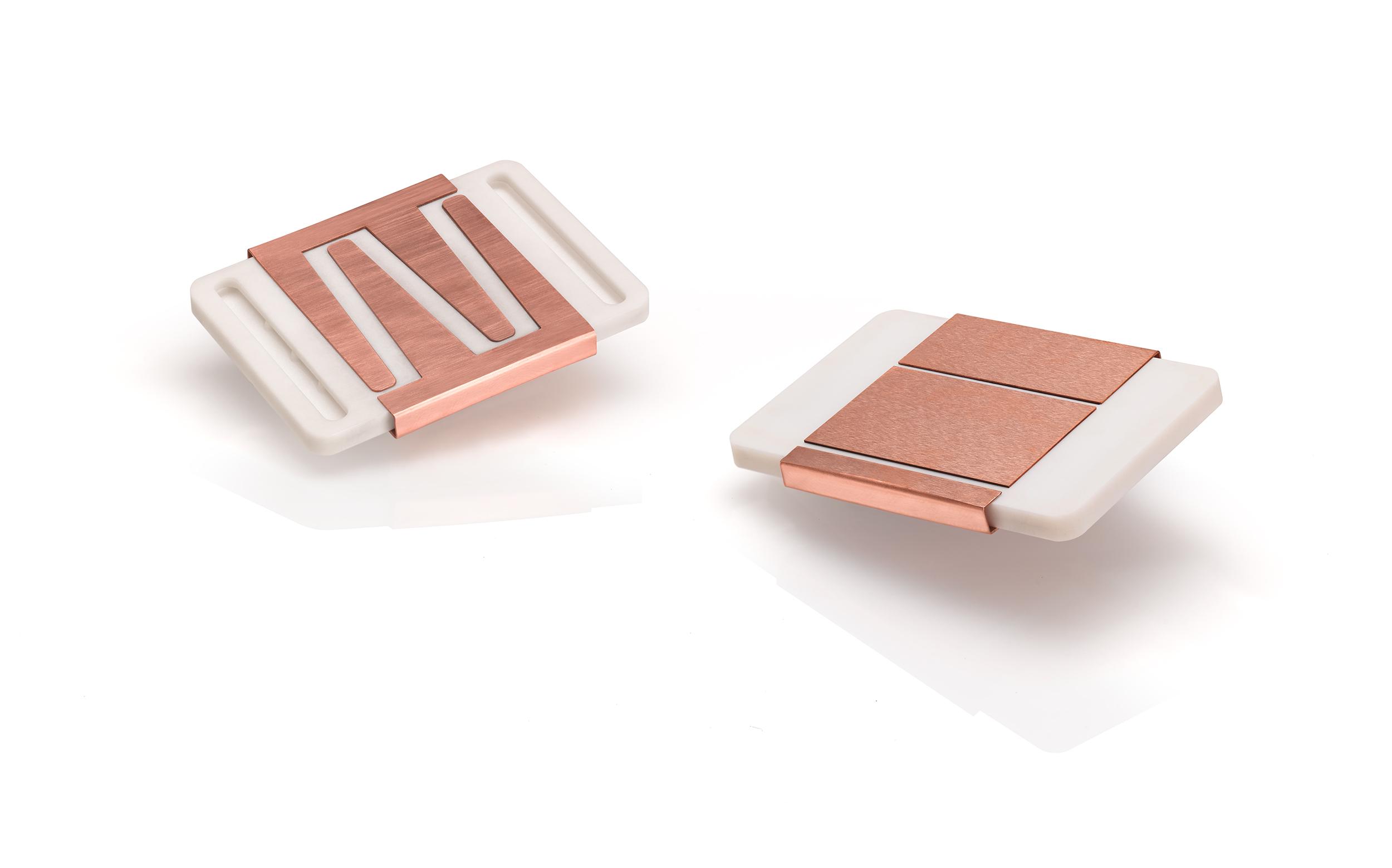 The ceramic power modules. Photo via CeramTec.