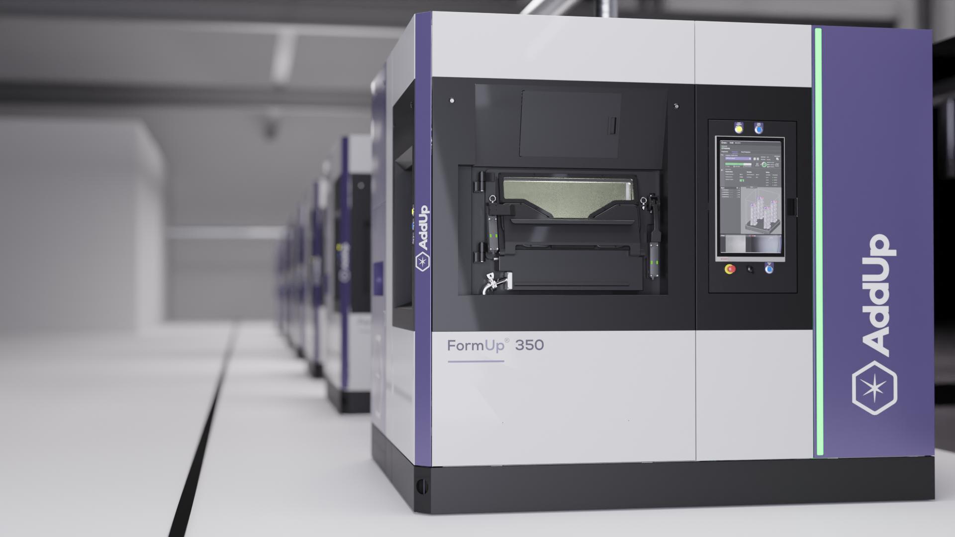 The FormUp 350 3D printer. Photo via AddUp.
