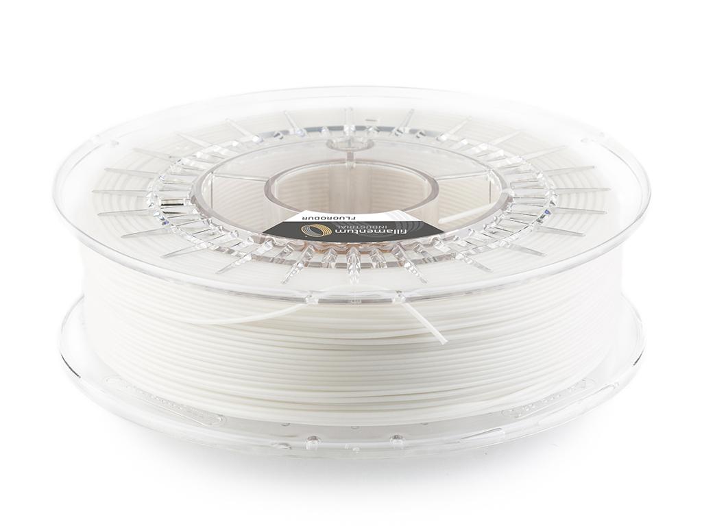 Fluorodur 3D printing filament. Photo via Fillamentum.