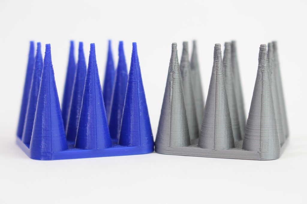 The retraction test. Photo by 3D Printing Industry.