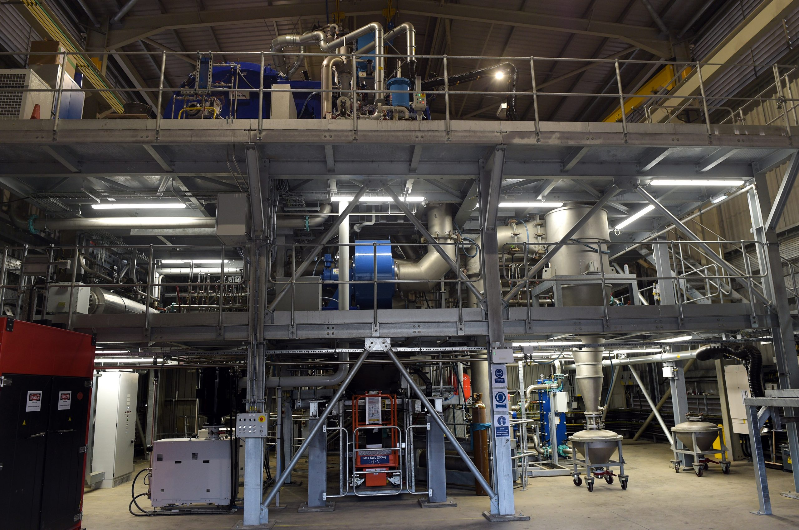 Opening of the the new Atomiser at LIberty Powder Metals, The Materials Processing Institute in Middlesbrough. Photo via LIBERTY Powder Metals.
