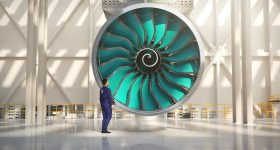 The upcoming Rolls-Royce UltraFan engine. Image via Rolls-Royce.