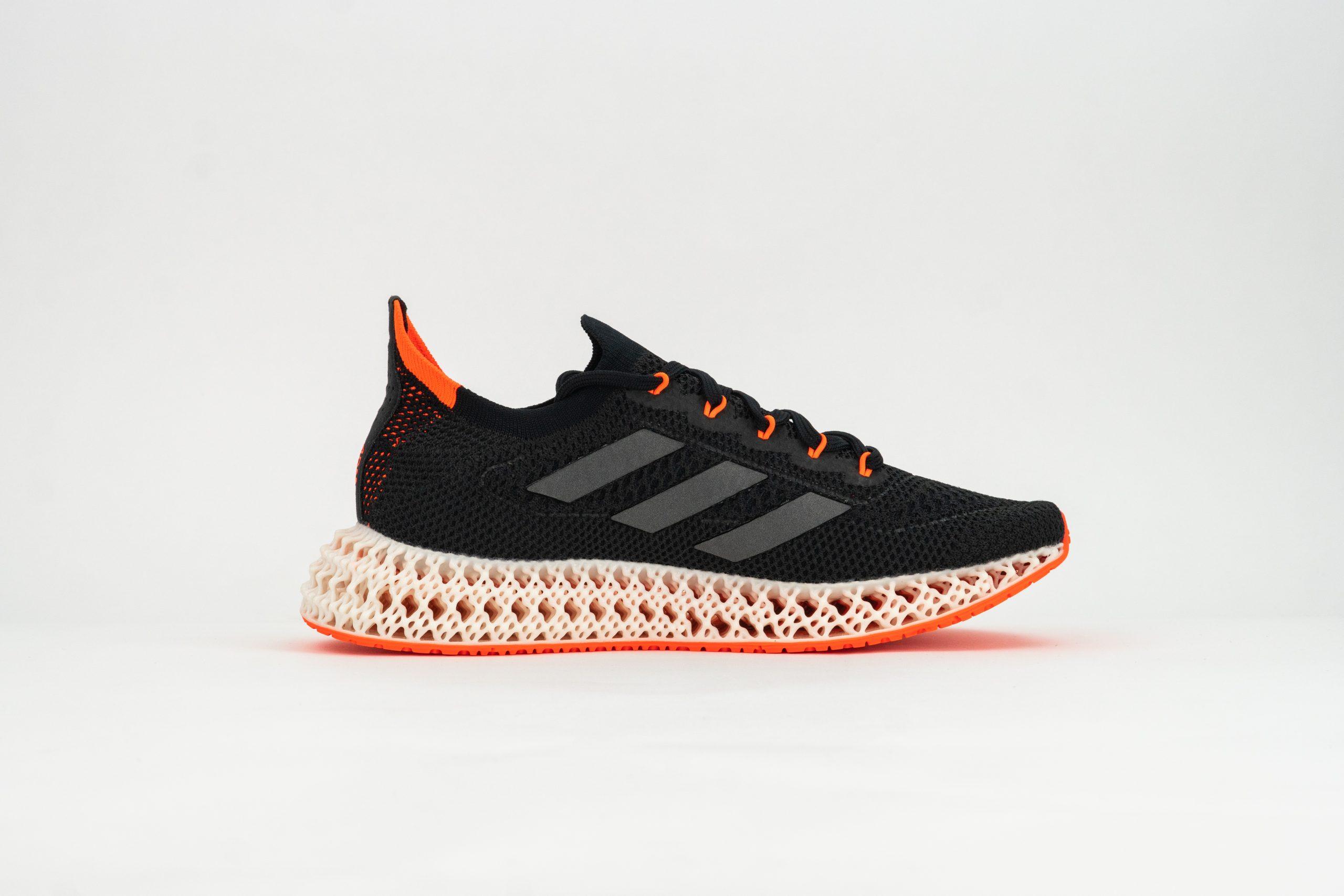 Adidas' 4DFWD running shoe. Photo via adidas.