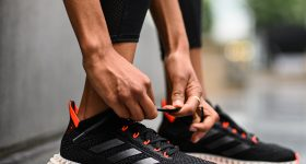 Adidas and Carbon have launched their latest 4D midsole, the 4DFWD. Photo via Lukas Schulze/adidas AG