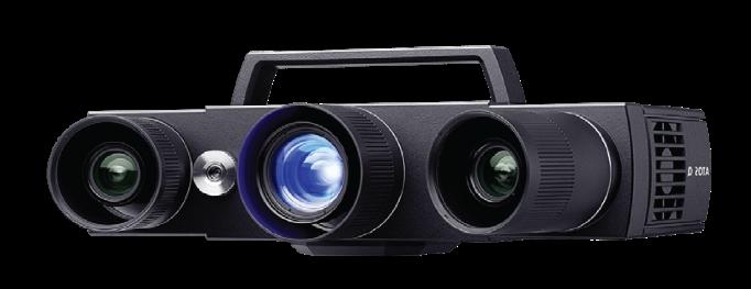 GOM ATOS Q Blue Light Scanner. Photo via Shree Rapid Technologies.