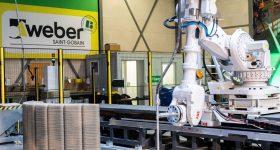 Weber Beamix's concrete 3D printing factory. Photo via Weber Beamix.