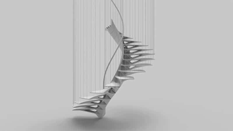 The 'Nest Step2' staircase due to be built at ETH Zurich.