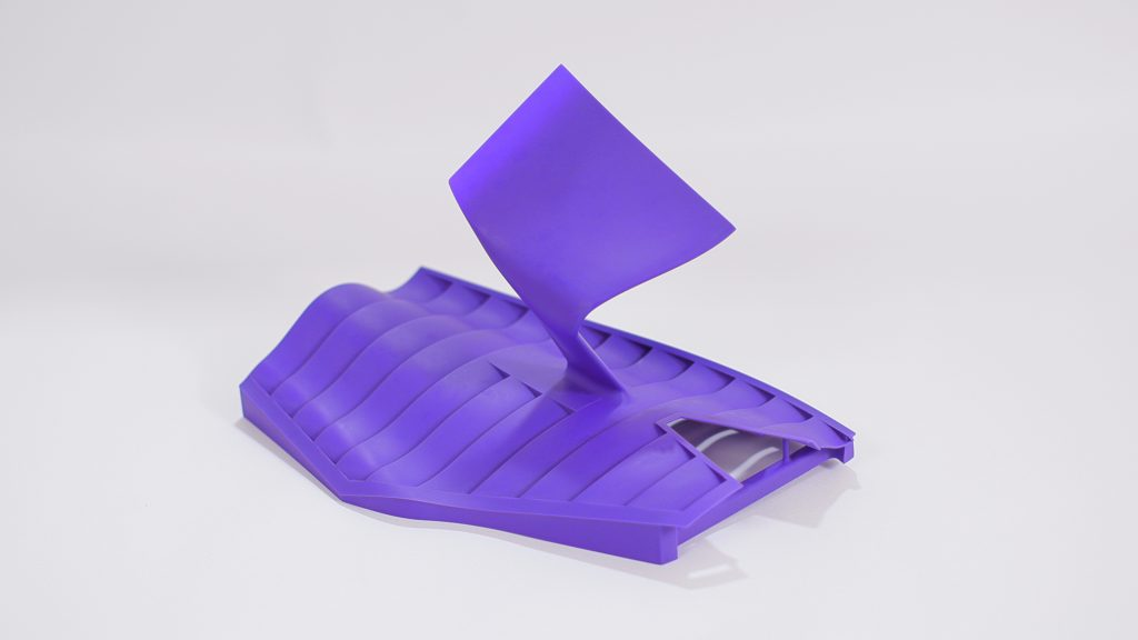 A part 3D printed using 3D Systems' new Accura Composite PIV material. Image via 3D Systems.
