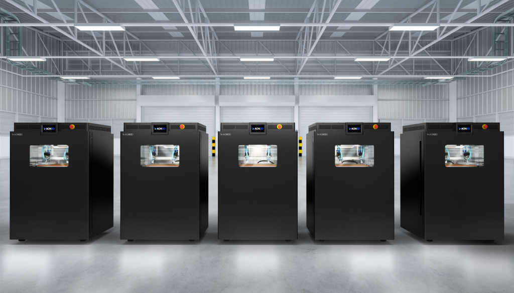 The AON M2+ 3D printer. Photo via AON3D.