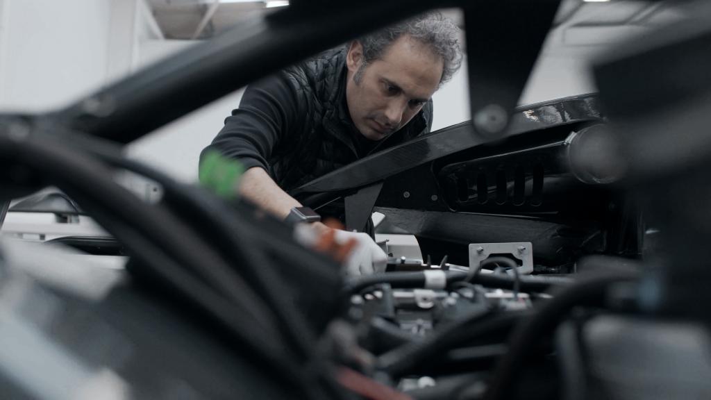 Arash Farboud, Founder and Lead Designer at the company. Photo via Arash Motor Company.
