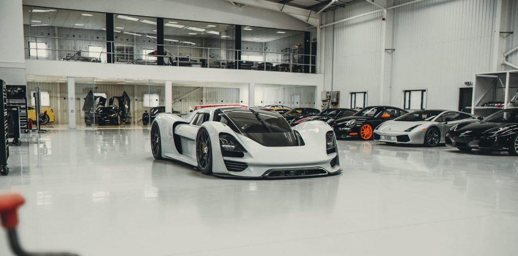 Arash's upcoming electric hypercar. Photo via Arash Motor Company.