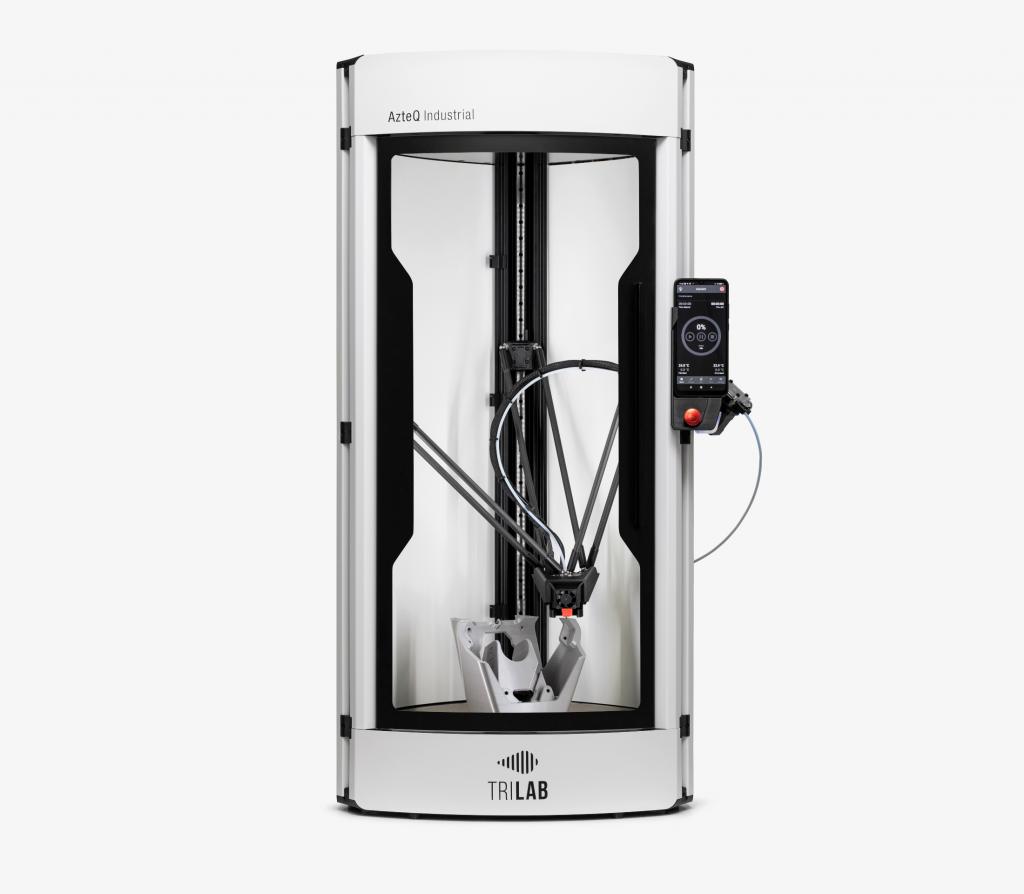 The AzteQ Industrial 3D printer. Photo via TRILAB.