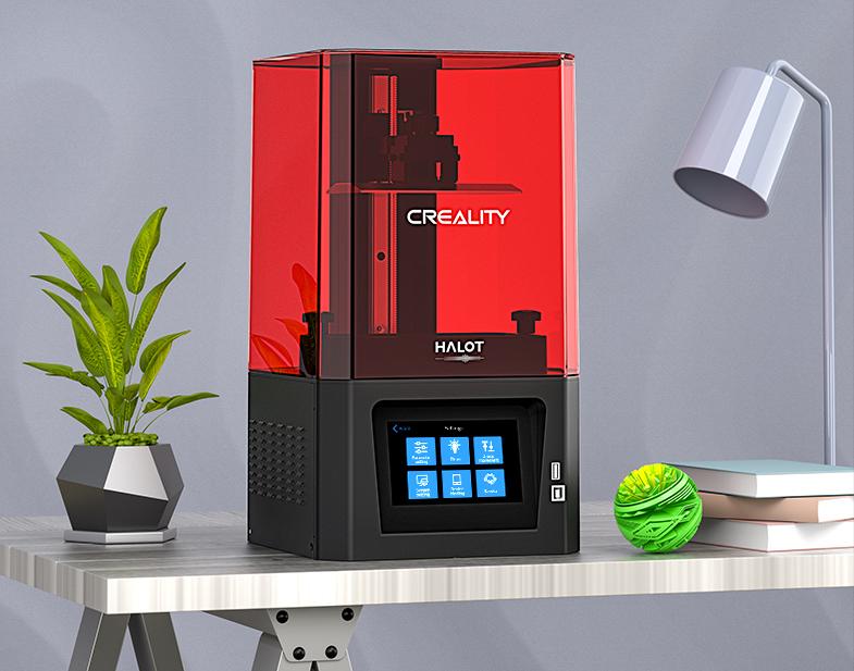 Creality's HALOT-ONE SLA 3D printer.