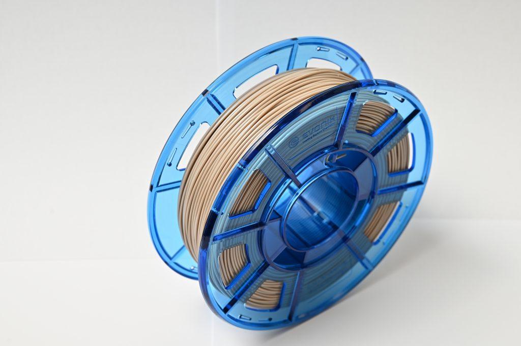 The filament is the latest in the company's 'Care Grade' line. Photo via Evonik.